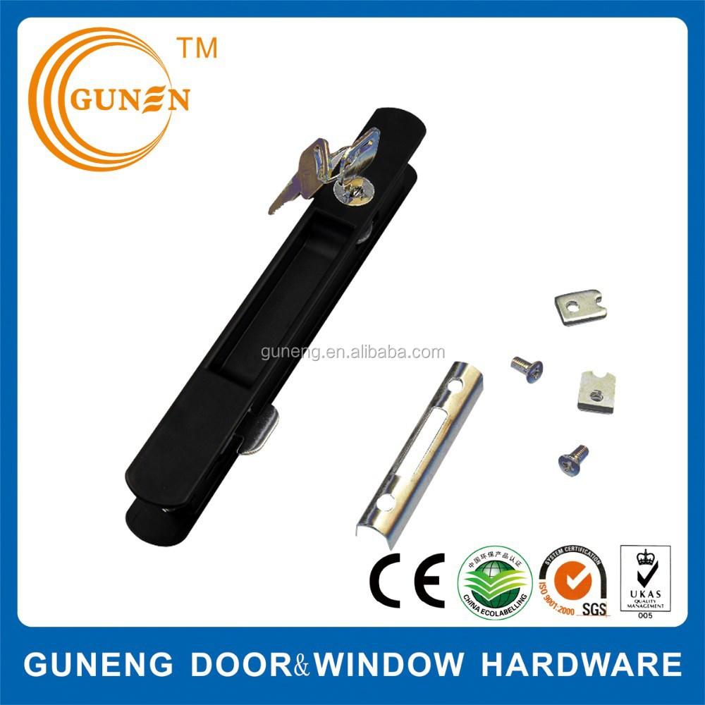 China Supplier Aluminum Heavy Duty Sliding Door Key Lock Without ...