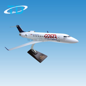 Costa crj-200 scale 1/58 47cm desktop cargo aviation model airplane