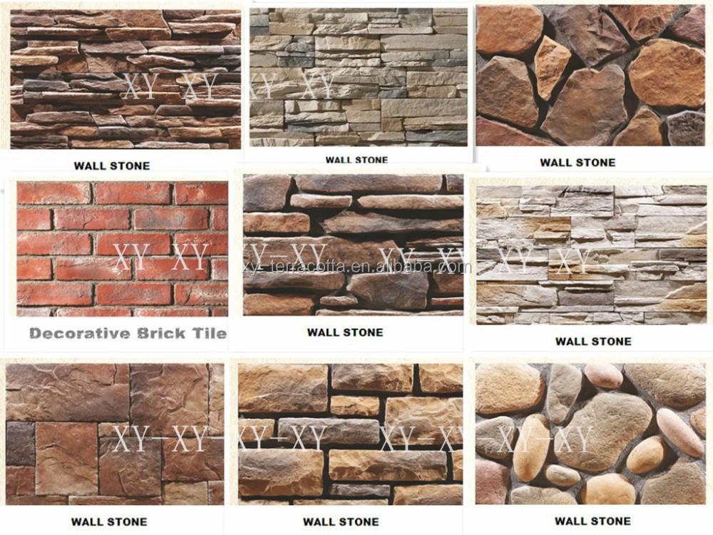 D coratif mur visage brique tuile panneau pierre artificielle id de produit 6 - Panneau brique decorative ...