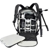 CADEN K7 Large Waterproof Traveling Outdoor Backpack DSLR Camera Bag for Canon