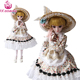 UCanaan 60CM Kawaii Loli Dolls 1/3 Beauty BJD Doll 19 Ball Jointed With Full Outfits Makeup Dressup Children Toys Girls SD Doll