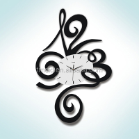 home decor cheap prices trendy nice modern art unique large iron wall clock