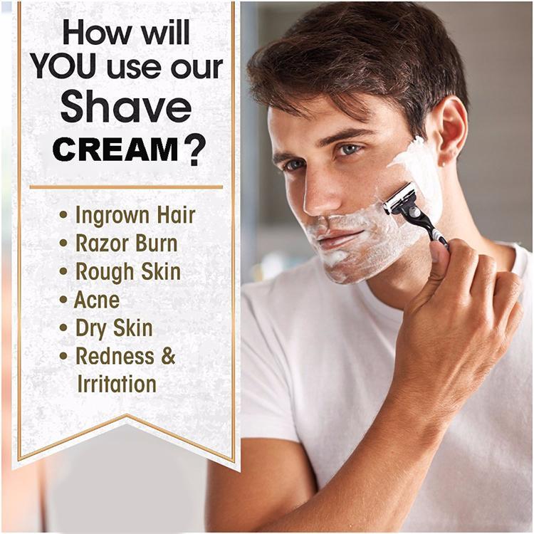 Herren rasieren creme schaum private label