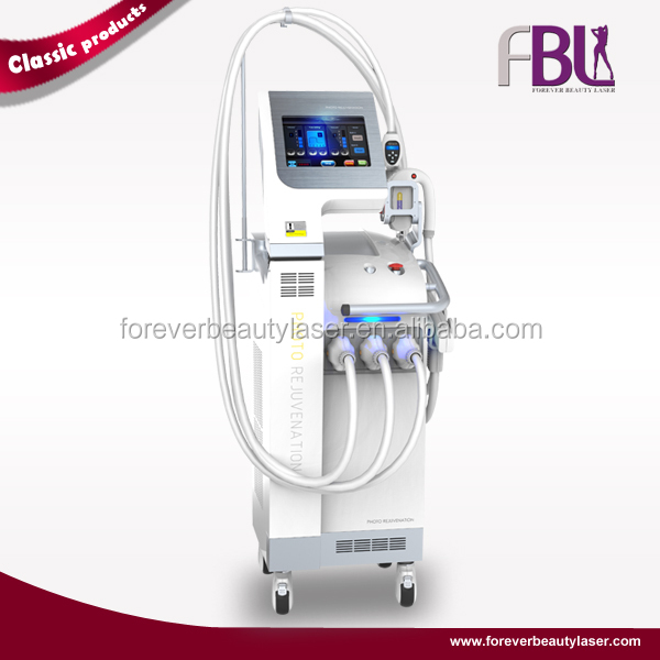SHR IPL + Yag Laser + Fractionnée RF 3 in1 Machinie-EPL200