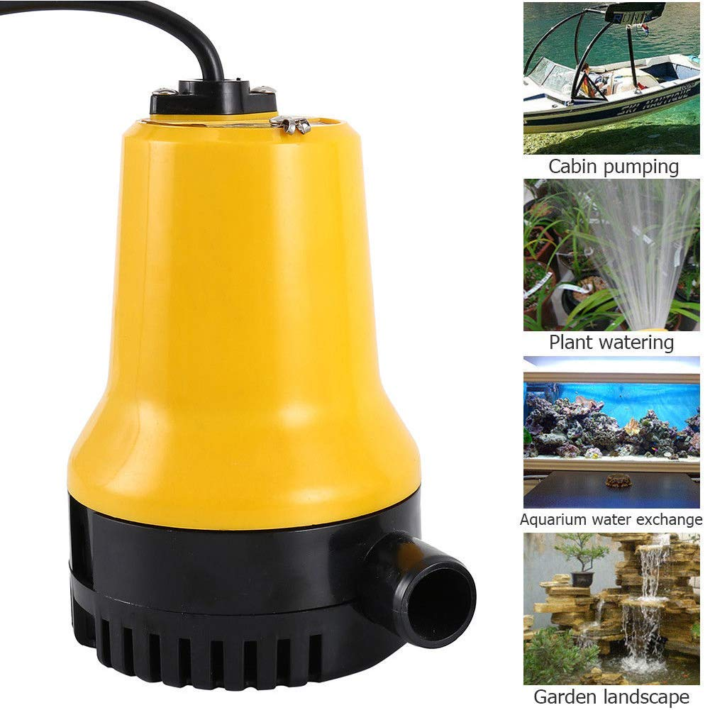 24V 50W Water DC Submersible Pump Electric Dirty Pond Swimming Pool Cleaner Tool