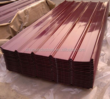 High Quality Color Steel Roof Tile Color Roof To