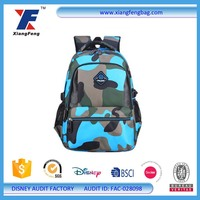 Fashion Waterproof Travel Hiking Backpack School Bag For Boys