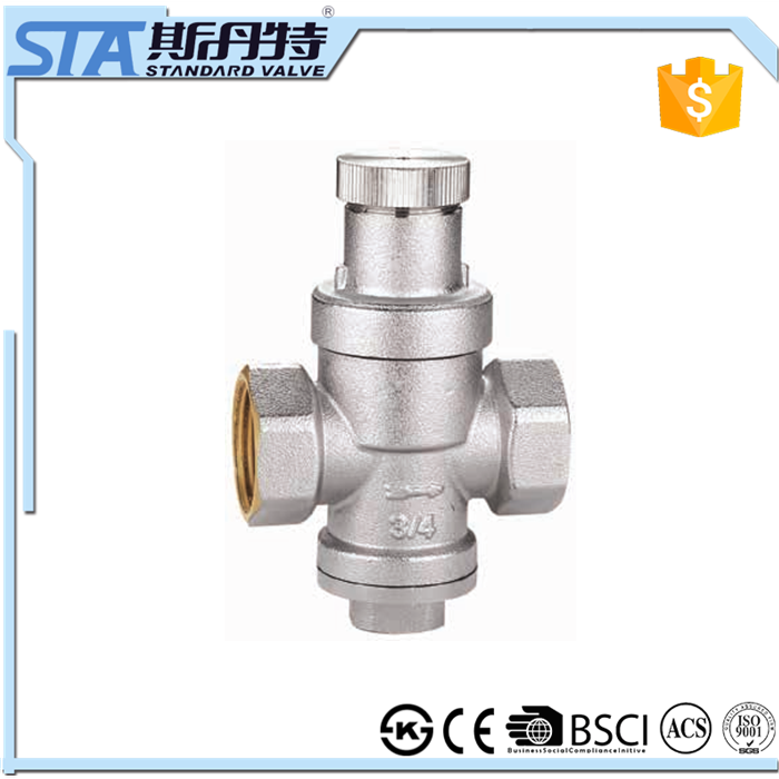 Art.5068 Factory Price Competitive Brass Air Steam Water Pressure ...