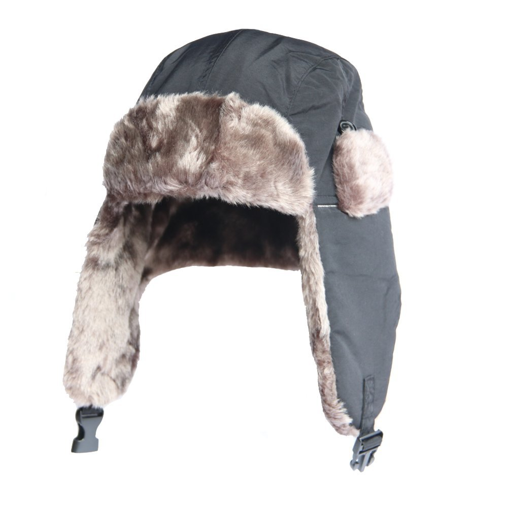 Russian Hunting Hat Trapper Hat Winter Ear Flap Hat-Bomber Aviator Winter  Cap,Winter d626a9cd4184