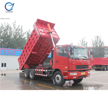 Hot sale high quality customized bottom price CAMC 6x4 dump truck loading capacity