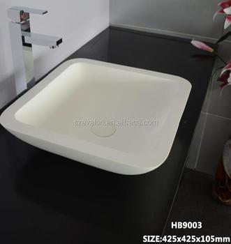 narrow bathroom sink. Artificial Stone Long Narrow Bathroom Sink, Solid Surface Resin Basin Counter Top Wash Sink