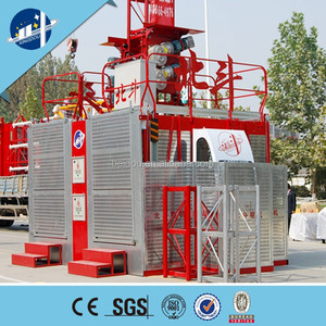 Temporary construction hoist building site elevator construction personnel  lift