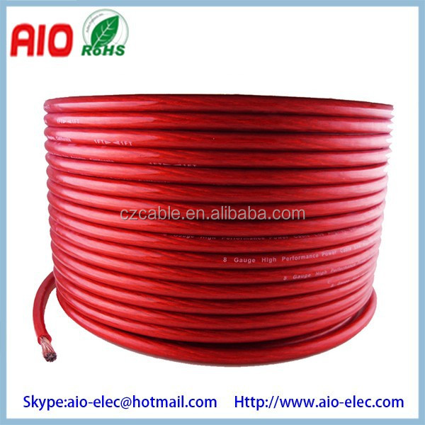 0awg 2awg 4awg 8awg 10awg Gauge Heavy Duty Power Cable - Buy 4 Gauge ...