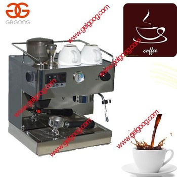 home coffee machine with grinder