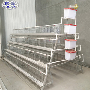 Automatic Water Trough Chicken Layer Cage for Sale in Philippines