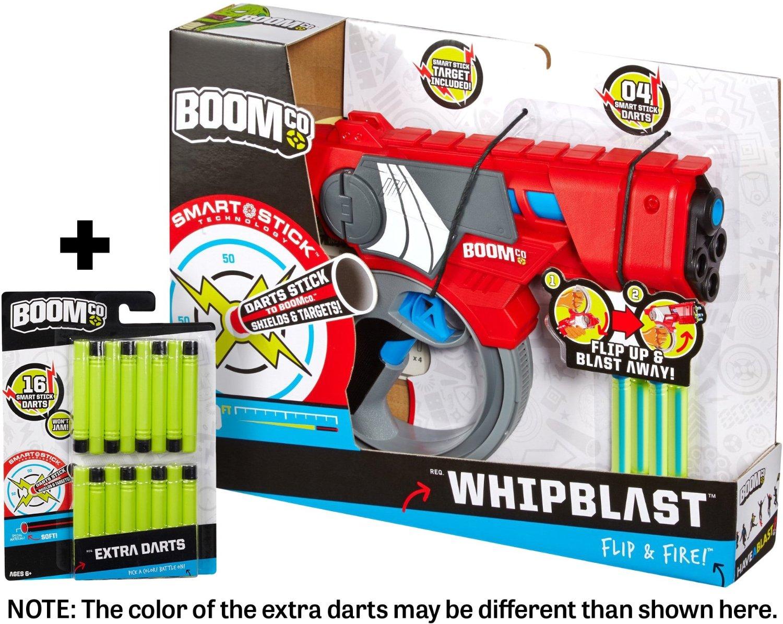 BOOMco. Whipblast Toy Blaster + FREE 16 Extra BOOMco Darts Bundle