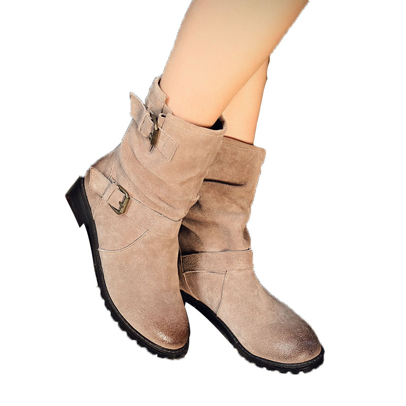 Luxury Brand Women Boots 2015 Winter Women Boots Fashion Fashion Sexy Women Boots genuine leather Martin Shoes