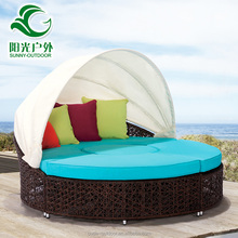 High quality rattan patio furniture factory directly oval wicker outdoor lounge furniture rattan furniture