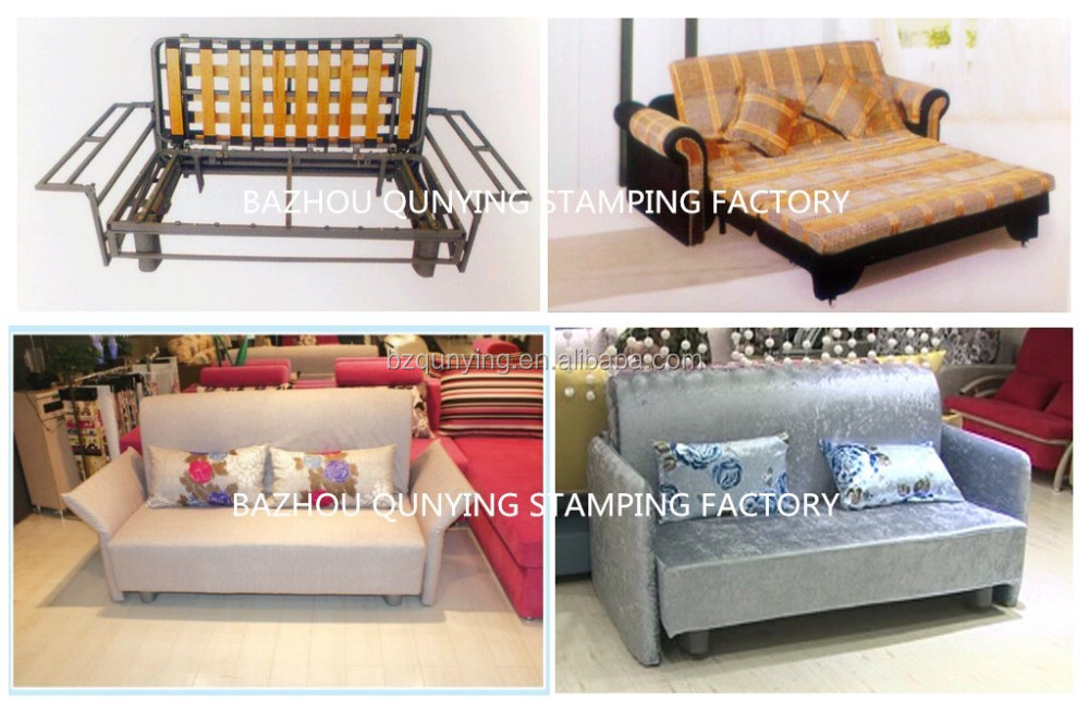 Economic durable pull out sofa bed mechanism