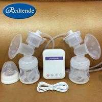 breast milk pump baby care milk feeding single portable silicone electric breast suction pump
