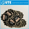 Flower shape die cut advertising vinyl stickers for promotion