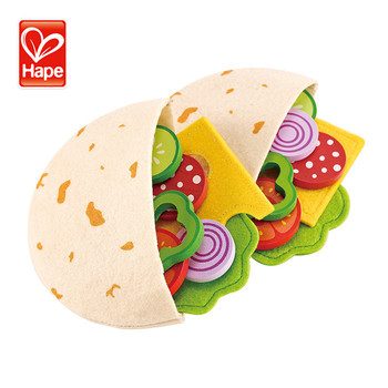 Hape New Play Intelligence Wooden Kitchen Toy Food