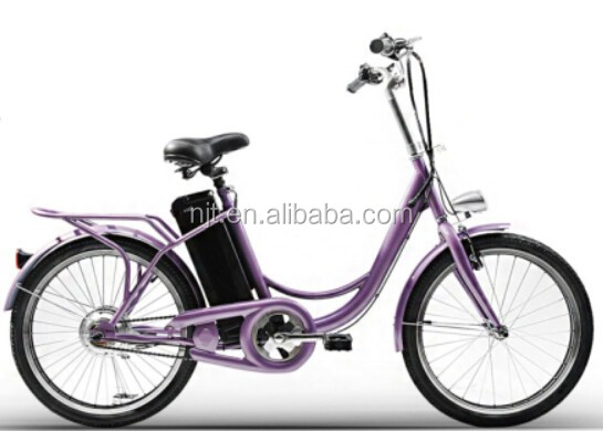 Quzhou high quality fashion ebike with 250W brushless motor