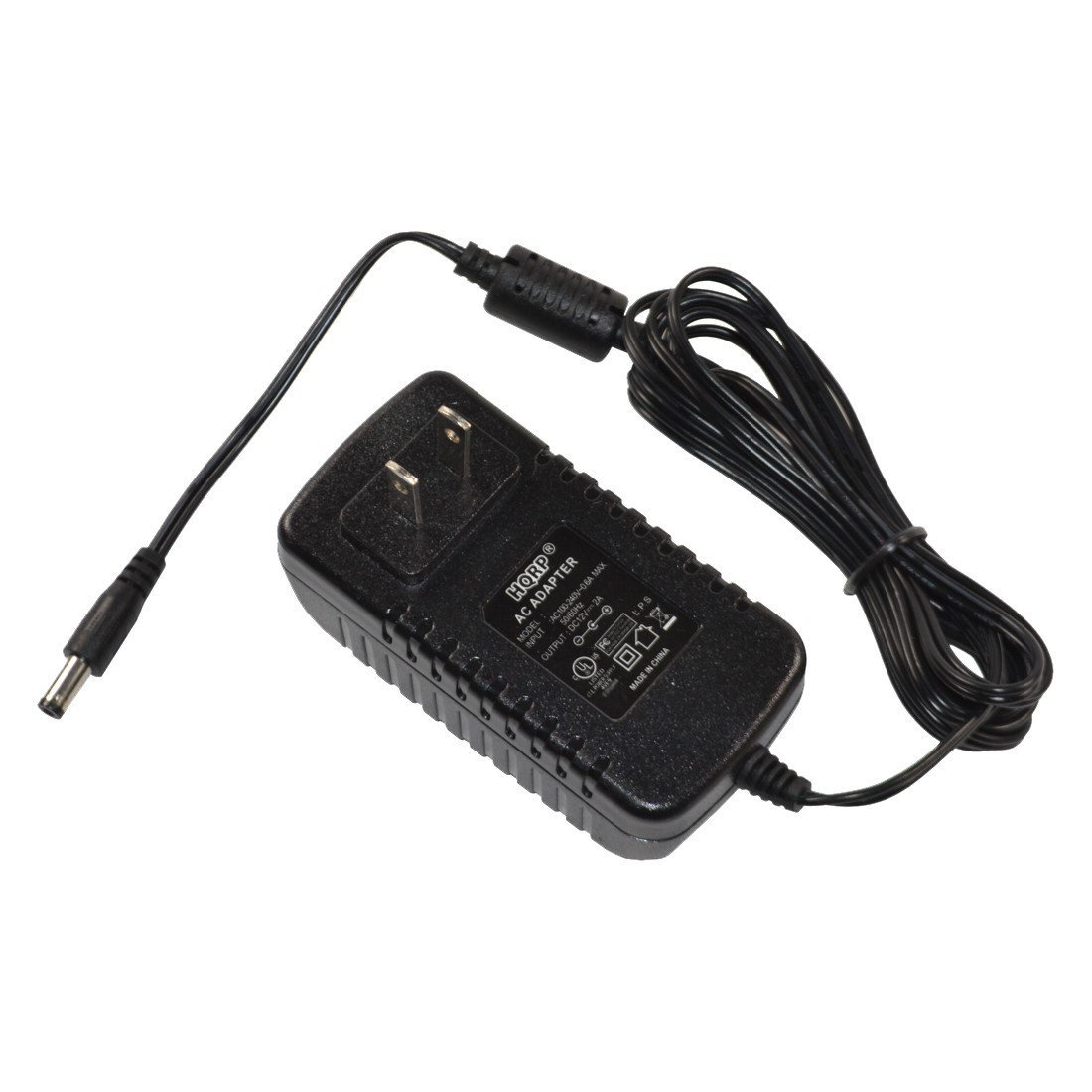 HQRP 12V AC Adapter/Power Supply for SWANN NHD-806 720P HD Security Camera; SWNHD-806CAM [UL Listed] Plus HQRP Euro Plug Adapter