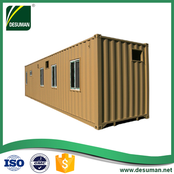 Ready made used living 20ft container garage store house for sale in kuching sarawak