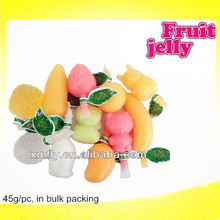 Assorted Flavours Fruit Shaped Jelly Candy Royal Jelly Cup