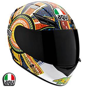 12e5498d AGV K3 Rossi Dreamtime Motorcycle Helmet Large AGV SPA - ITALY  032150A0011009