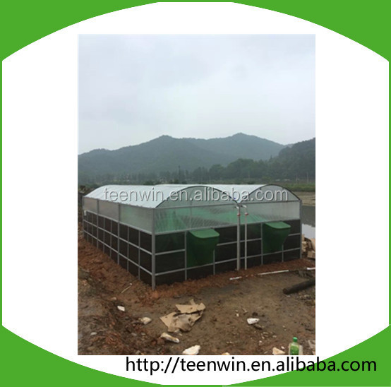 Teenwin 100m3 soft pvc portable assembly biogas digester/plant for hog manure
