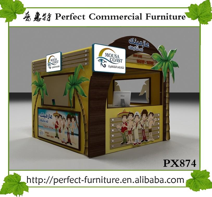 Diseño De Muebles Al Aire Libre Puesto De Comida Exhibición Cabina ...