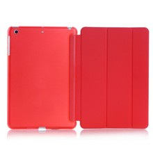 Luxury Slim Smart Wake Leather Case Cover for ipad cooling case