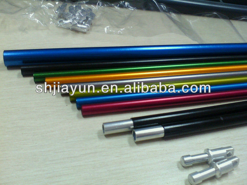 various sizes 6063 t5 aluminum tent pole aluminum tube products