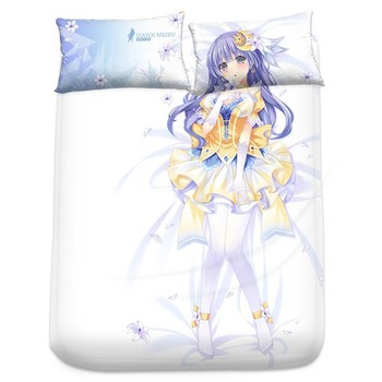 New Miku Izayoi   Date a Live Japanese Anime Bed Sheet with Pillow Covers  Blanket 11. New Miku Izayoi   Date A Live Japanese Anime Bed Sheet With Pillow