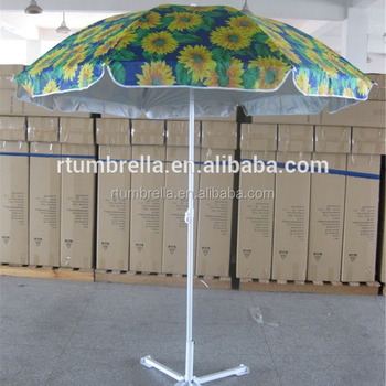 Sunflower Beach Umbrella Garden Umbrella Sun Protection Umbrella