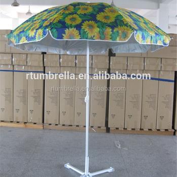 Sunflower Beach Umbrella Garden Umbrella Sun Protection Umbrella