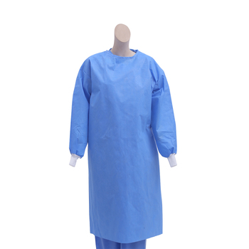 Medical hospital disposable autoclavable custom non sterile disposable surgical gown