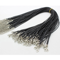 XULIN Wax Silk cord for necklace with clasps JS009