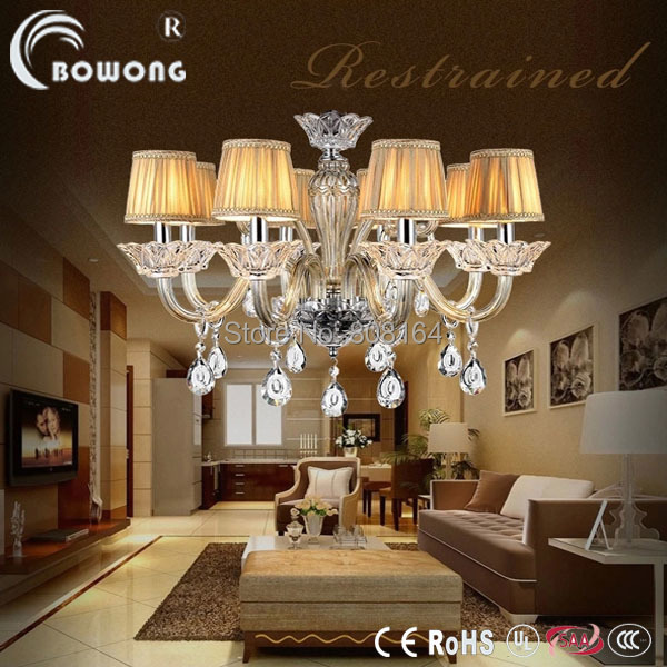 Dining Room Modern Crystal Chandeliers: Modern Europe Crystal Chandelier Home Chandeliers