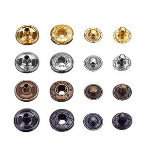 Metal Fasteners Clothing Press Studs Button Snap