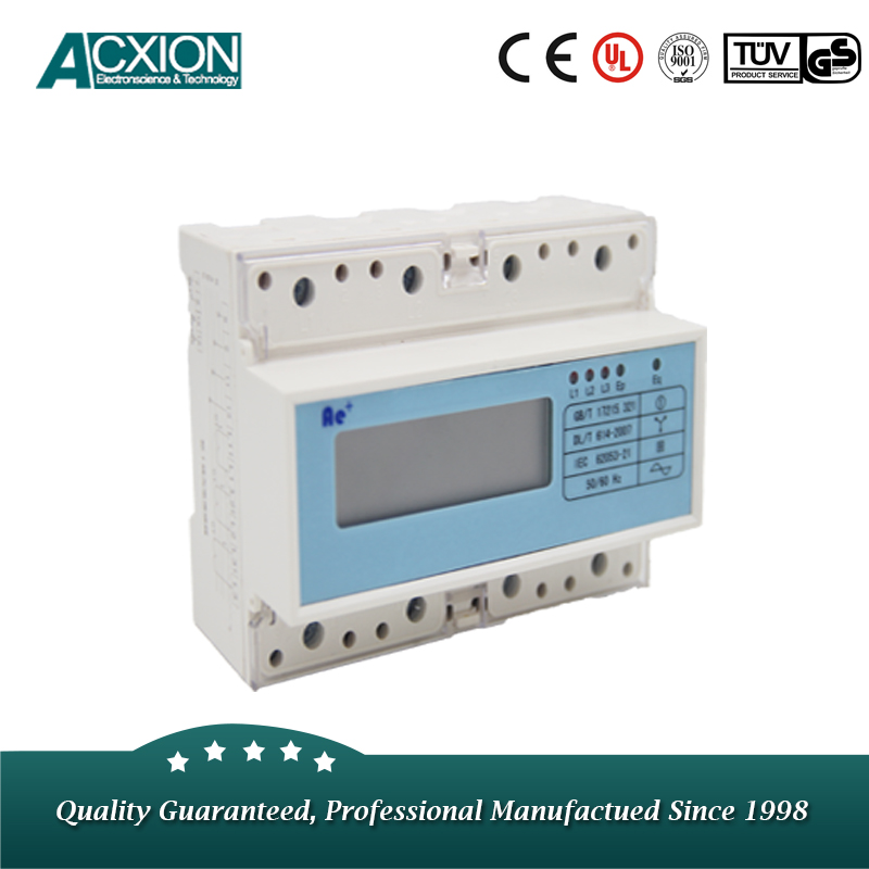 DIN Rail Modbus Electric kWh Energy Meter
