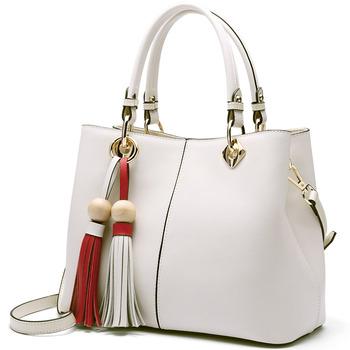 China Wholesale New Design Fashion Women Messenger Shoulder Bag Ladies  Cowhide Leather Tote Handbag 578b08298b