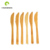 Factory wholesale 100% biodegradable bamboo knife fork spoon set