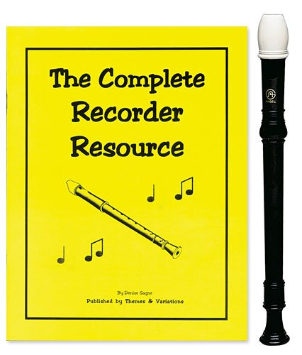 Angel 1 Piece Recorder Pack with Complete Recorder Resource Kit Vol. 1 by Denise Gagne