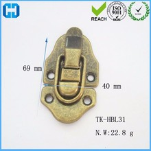 Antique Brass Latch Catch Hộp <span class=keywords><strong>Nhôm</strong></span> <span class=keywords><strong>Khóa</strong></span> Vali <span class=keywords><strong>Khóa</strong></span>