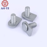 Dacromet plated flat head machine screw with spacer