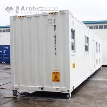 New product 2017 container homes 40ft manufactured in China