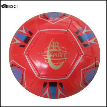 3c264e98201e8 Promocional Barato Estoque Vermelho Bola De Futebol Boa Qualidade ...